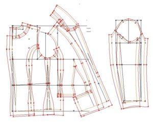 Лекала. Базовые конструкции, Градация. Выкройка на нестандартную фигуру
